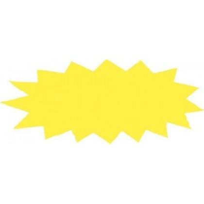 Adhesivo fluor estrella gigante