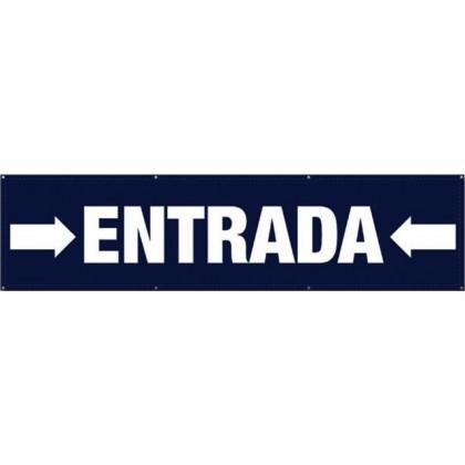 Pancarta entrada