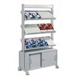 Expositor artline 12 A4 con armario