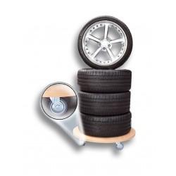 Base móvil para ruedas