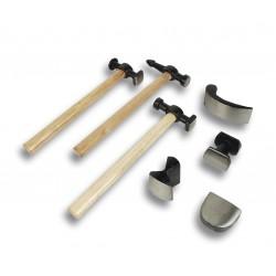 Set herramientas chapista II