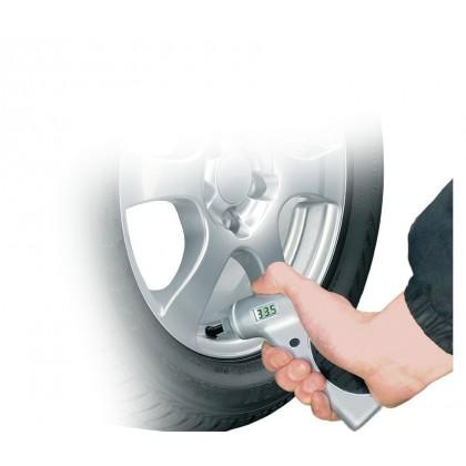 Comprobador presión neumáticos digital