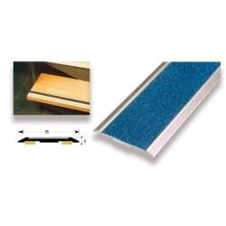 Perfil aluminio antideslizante