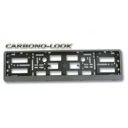 Soporte euroclip carbono-look sin impresión