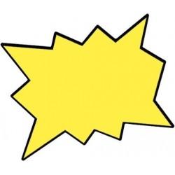 Adhesivo fluor estrella