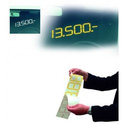Precios digitales adhesivos