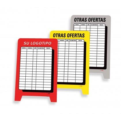 """Cartel """" Otras ofertas"""""""