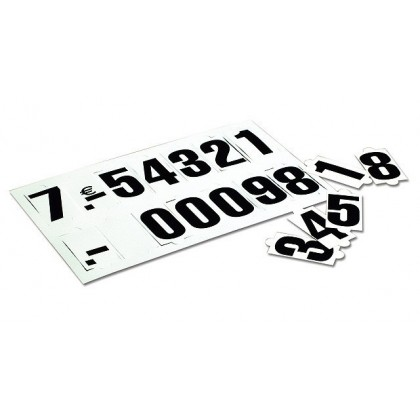 Repuesto de cifras y símbolos