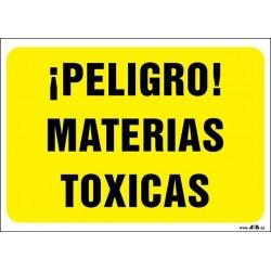 ¡Peligro! Materias toxicas