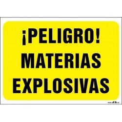 ¡Peligro! Materuas explosivas