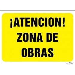 ¡Atención! Zona de obras