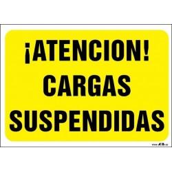 ¡Atención! Cargas suspendidas