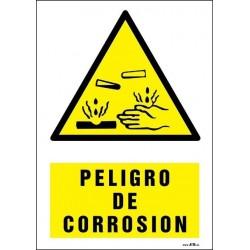 Peligro de corrosión