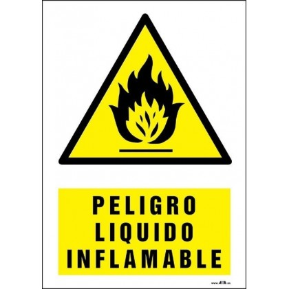 Peligro líquido inflamable