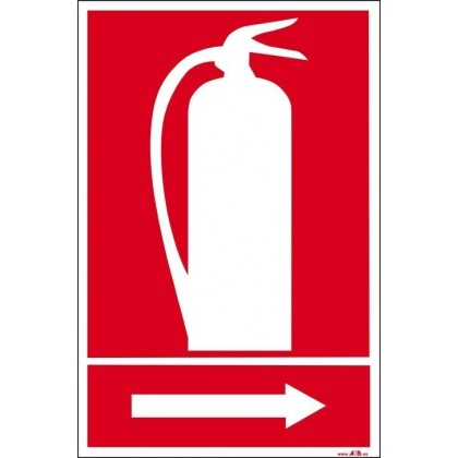 Extintor derecha