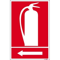 Extintor izquierda