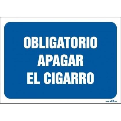 Obligatorio apagar el cigarro