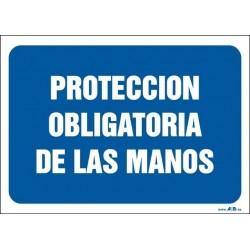 Protección obligatoria de las manos