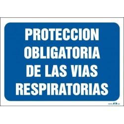 Protección obligatoria de las vías respiratorias
