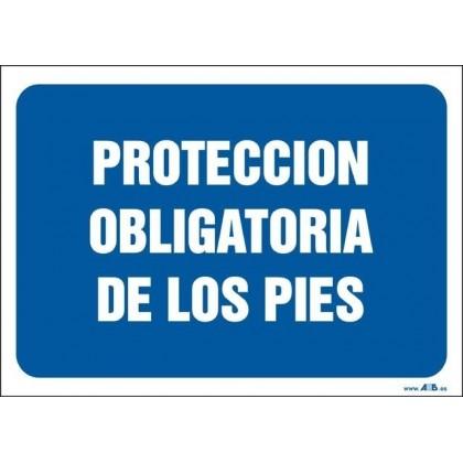 Protección obligatoria de los pies