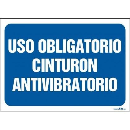 Uso obligatorio cinturón antivibratorio