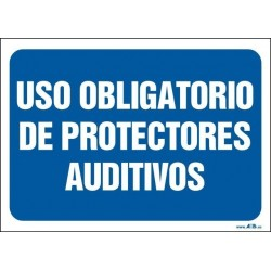 Uso obligatorio de protectores auditivos