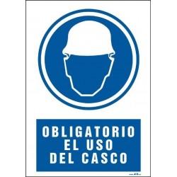 Obligatorio el uso del casco