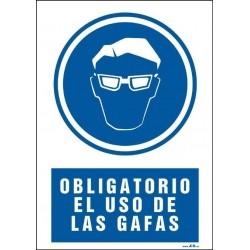 Obligatorio el uso de gafas