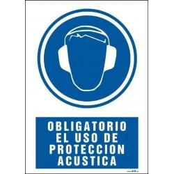 Obligatorio el uso de protección acústica
