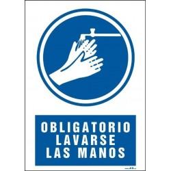 Obligatorio lavarse las manos