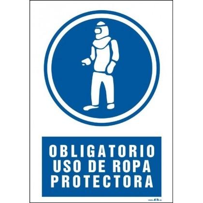 Obligatorio uso de ropa protectora