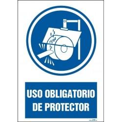 Uso obligatorio de protector