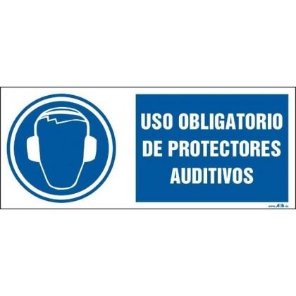 Uso obligatorio de protectores auditívos