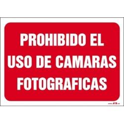Prohibido el uso de cámaras fotográficas