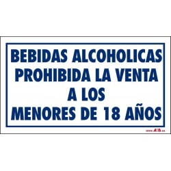 Prohibida venta de alcohol a menores