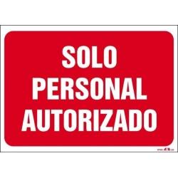 Solo personal autorizado