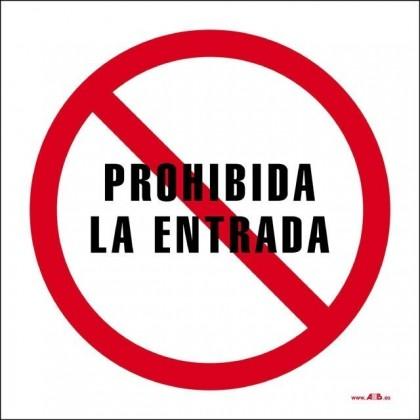 Prohibida la entrada