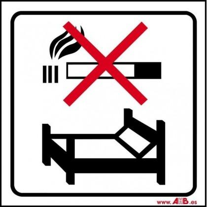Prohibido fumar en la cama
