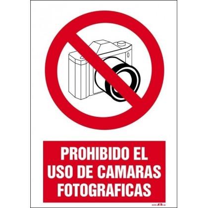 PROHIBIDO EL USO DE CAMARA FOTOGRAFICA