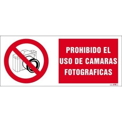 PROHIBIDO EL USO DE CAMARAS FOTOGRAFICAS