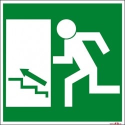 Salida escaleras arriba izquierda