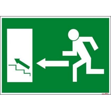 Salida izquierda escaleras arriba