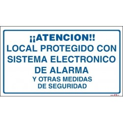 Local protegido con sistema de seguridad