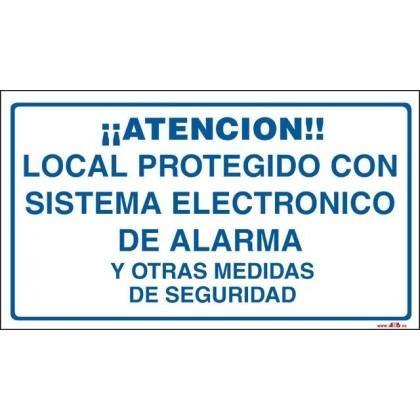 Local protegido con sistema de seguridad