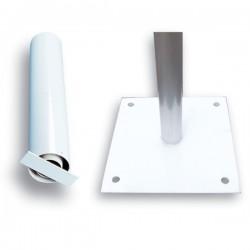 Base para mástiles de aluminio