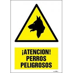 ¡Atención! Perros peligrosos