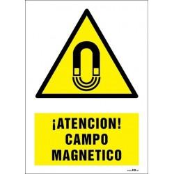 ¡Atención! Campo magnético