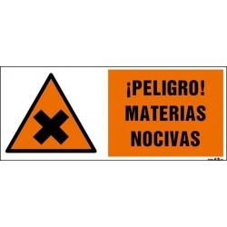 ¡Peligro! Materias nocivas