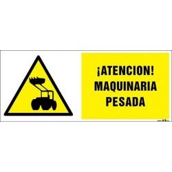¡Atención! Maquinaria pesada