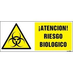 ¡Atención! Riesgo biológico